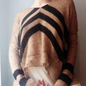 FREE PEOPLE | alpaca blend light knit sweater